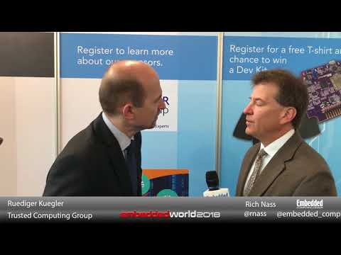 Trusted Computing Group/Wibu at Embedded World 2018