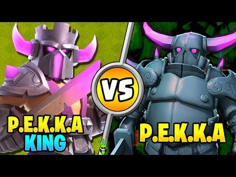 *NEW* PEKKA KING VS ALL GROUND TROOPS - Clash Of Clans