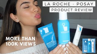 LA ROCHE - POSAY PRODUCT REVIEW + DEMO | 3 Step Effaclar Anti-Acne | CLEAR SKIN | bySanjna