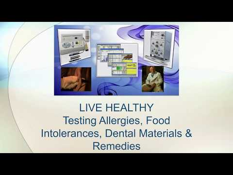 LIVE HEALTHY - Test Food, Water, Allergies, Dental Materials, Remedies & Medications