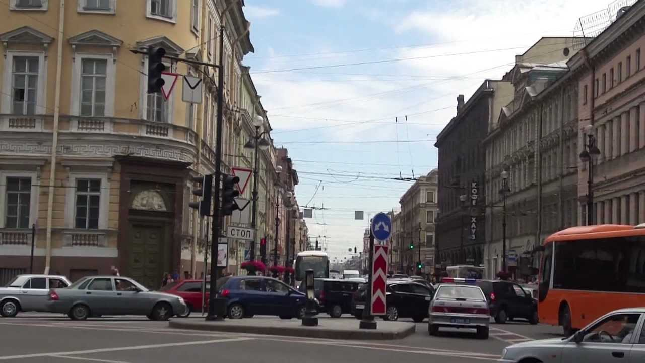 Прогулка по Невскому проспекту, Санкт-Петербург - YouTube