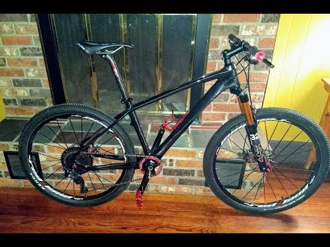 Building a Carbon 26er Hardtail Mountain Bike - Components / Prices / Weights