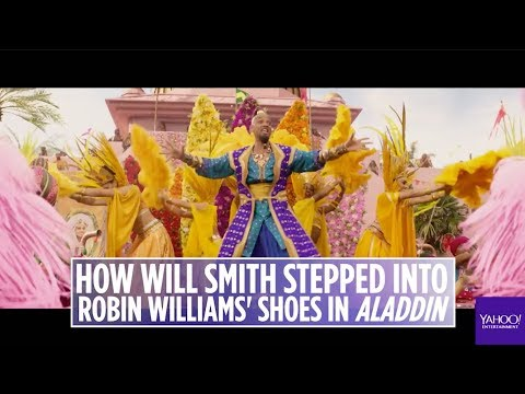 'Aladdin' director on casting Will Smith on the role Robin Williams made famous