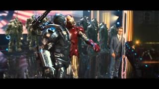 Клип Iron Man, Железный человек, AC/DC: Thunderstruck Vídeo Clip