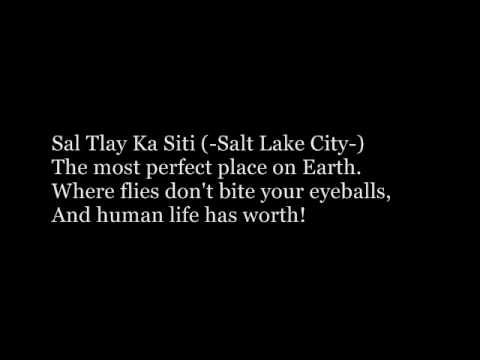 THE BOOK OF MORMON- 'Sal Tlay Ka Siti' Lyrics