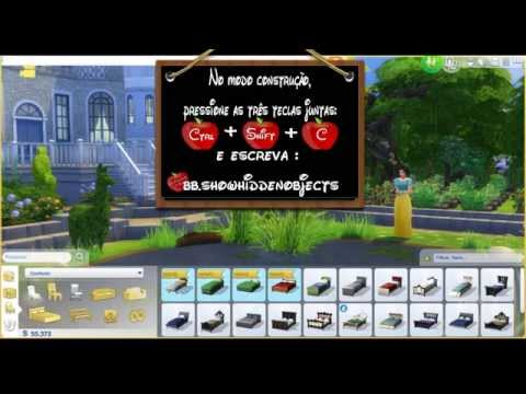 The Sims 4  -  **DEBUG** (bb.showhiddenobjects completo)