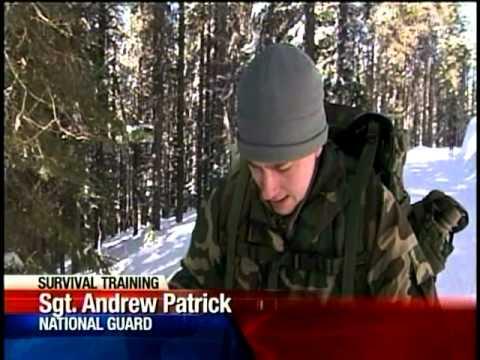 National Guard Learn Survival Skills On Mt. Spokane