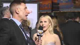 Kristen Bell Slaps a Reporter On 'The Boss' Red Carpet