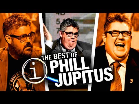 QI | Phill Jupitus's Best Moments