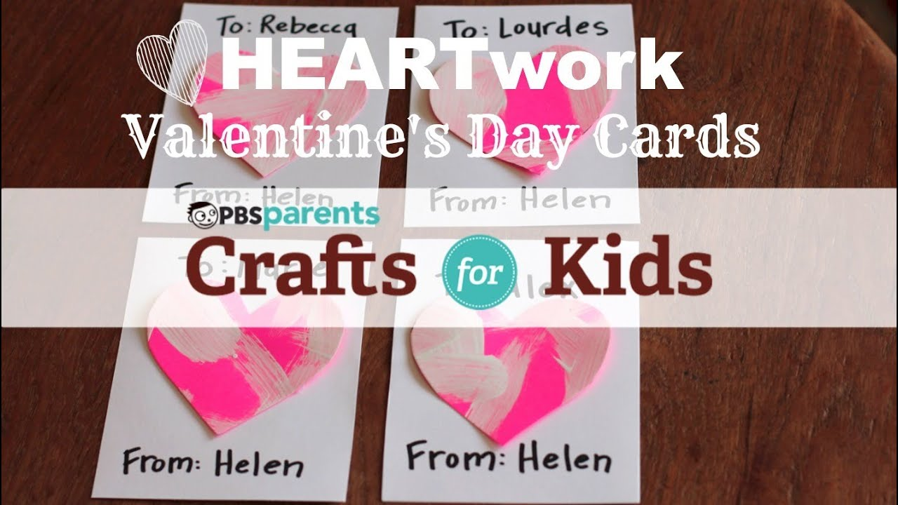 Valentine S Day Heartwork Crafts For Kids Pbs Parents Youtube