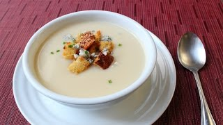 Roasted Apple & Parsnip Soup Recipe - How to Make Creamy Parsnip & Apple Soup