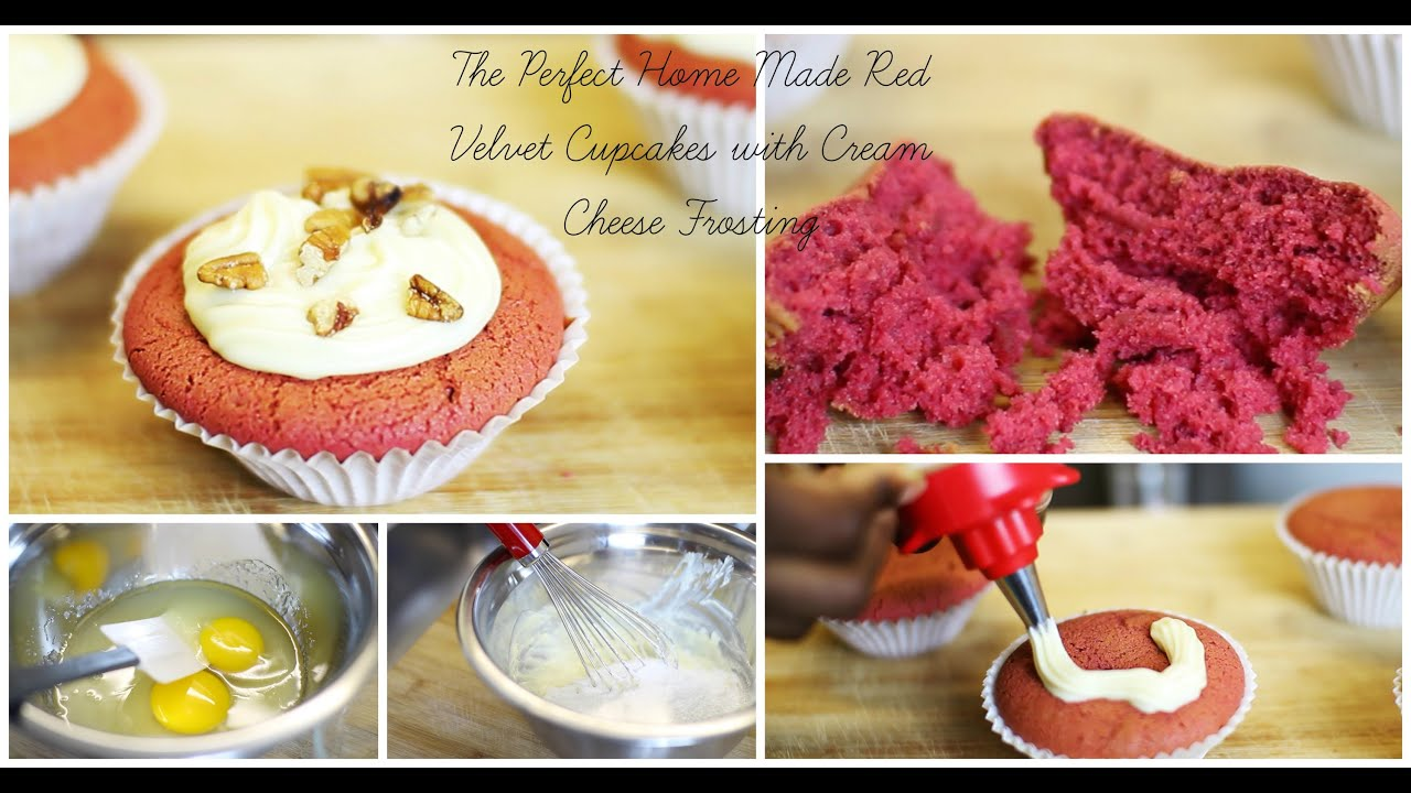 how to make red velvet cupcakes without sour cream