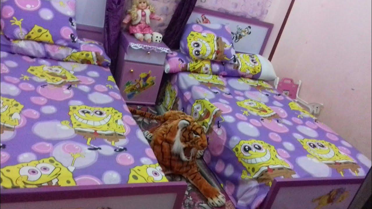 تنظيم و ترتيب غرفة الأطفال // ترتيب وتنظيف البيت في العيد