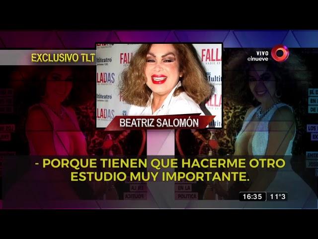 Exclusivo: Los resultados de los estudios de Beatriz Salomón