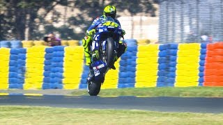 2018 French GP - Yamaha in action