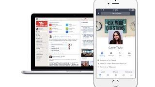 Facebook Workplace 3 Minute Tour screenshot 2