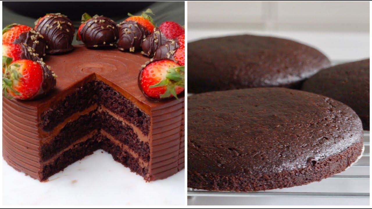 Best Eggless Chocolate Cake Youtube