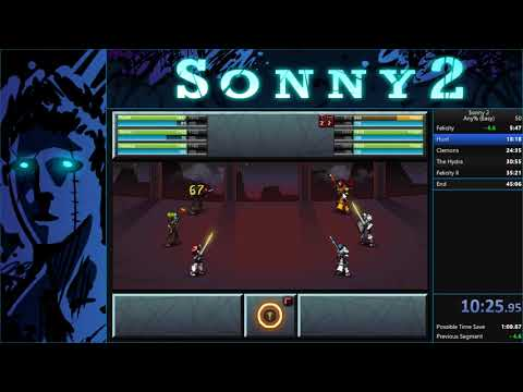 Sonny 2 - Any% (easy) Speedrun In 41:47 [current World Record]