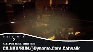 (Geçersiz Frekans Önbellek)2 KADER - Dynamo Çekirdek Catwalk Sleeper Düğüm Yeri  