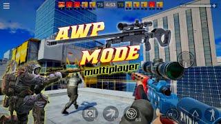 AWP Mode : Elite online 3D sniper action | new multiplayer sniper game under 400 mb | gameplay