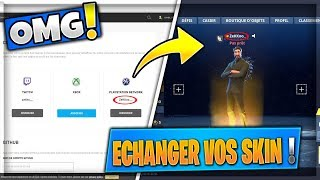 "Tip!!! TRANSFER HIS SKINS ON A ""OTHER COMPTE"" ON FORTNITE!!!"