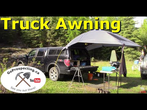 Truck Awning for Camping/Prospecting
