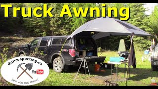 SUV Truck Awning for Prospecting