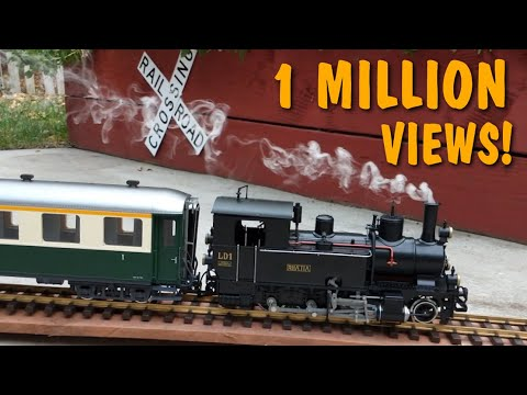 Model Train With The Most Realistic Steam and Sound