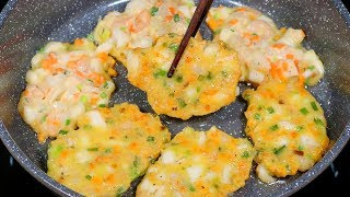 Vlog 10 | Bánh Hải Sản Chiên (Seafood Pancake)