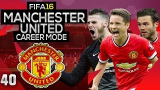 FIFA 16 Career Mode: Manchester United #40 - Must Win League Games (FIFA 16 Gameplay)