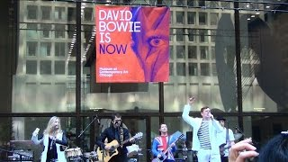 "David Bowie Day Chicago - ""Heroes"" cover by Sons of the Silent Age"