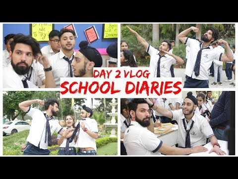 Day 2 | School Diaries | BTS | Mohit Chhikara | Vlogs