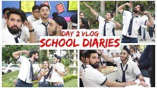 Day 2 | School Diaries | BTS | Mohit Chhikara | Vlogs