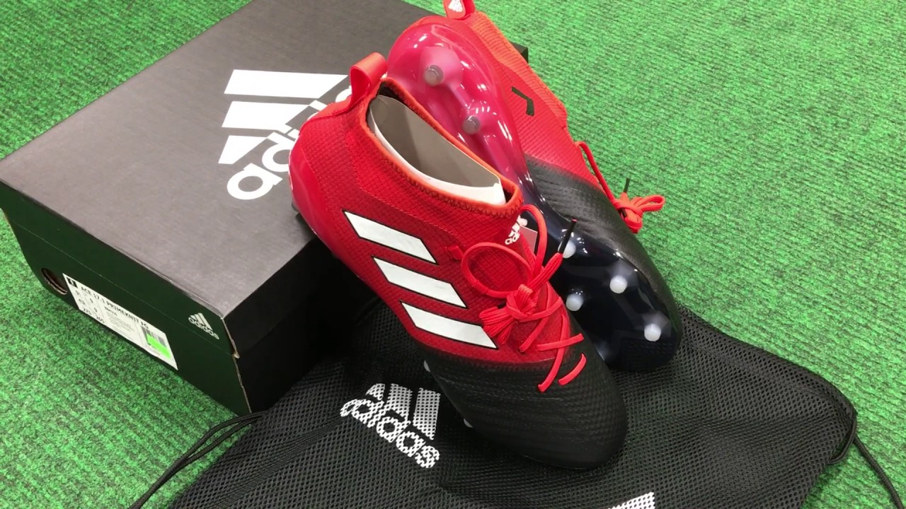 quality design 22461 388de Adidas Ace 17.1 FG in Red Black New Arrival at NAS Vancouver BC 604-299-1721