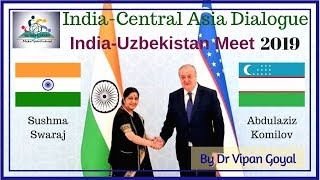 1st India-Central Asia Dialogue I MakeYourFuture I Dr Vipan Goyal