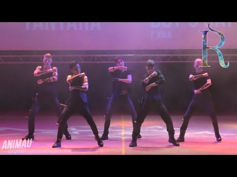 ANIMAU 2016: EXPO. Boy's Day (Уфа): AlphaBAT - Tantara (알파벳 Cover)
