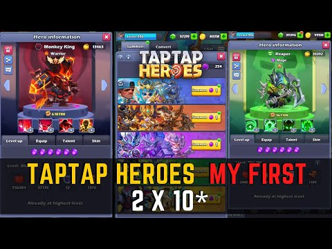 Taptap Heroes  My First 2 X 10*