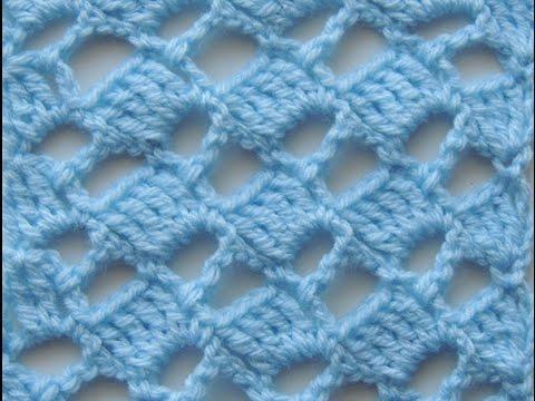 Crochet Punto Escalera 5 Youtube