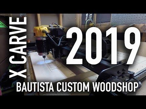 X CARVE 2019!  DETROIT CITY SUPERLIGA CARVE CNC MACHINE WOODWORKING INVENTABLES