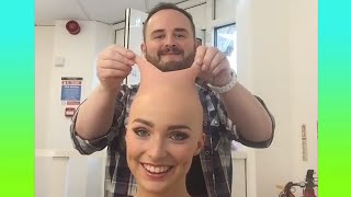 How to Remove Bald Make-Up | Oddly Satisfying Video with Commentary