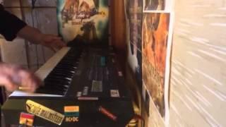 DEEP PURPLE~the cut runs deep(keyboard soro cover)
