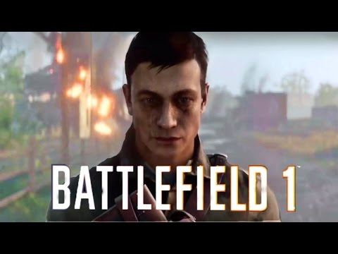 BATTLEFIELD 1 All Cutscenes Movie PS4...