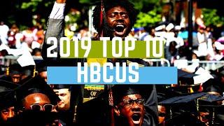 2019 HBCU RANKING   TOP 10 HBCUS