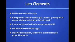 Len Clements Review