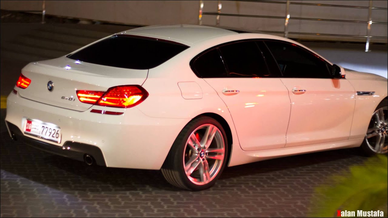 2013 bmw 6 series gran coupe m sport package on streets of alain youtube. Black Bedroom Furniture Sets. Home Design Ideas