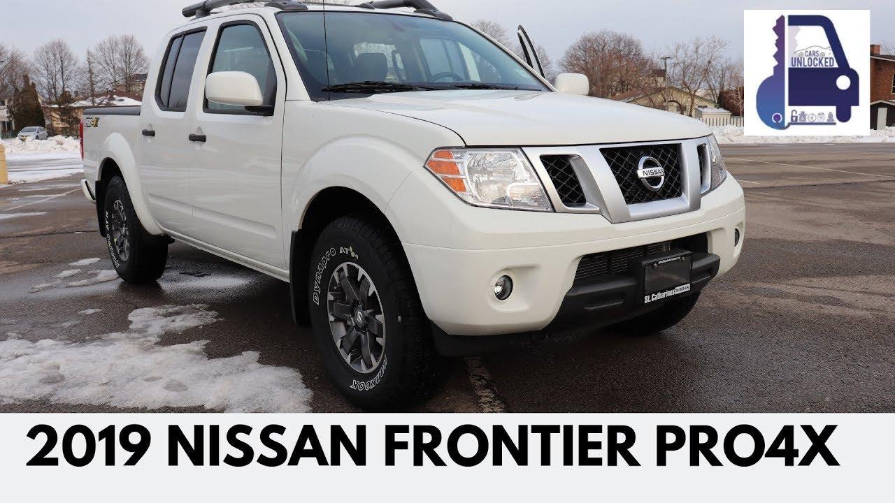 Nissan Frontier Pro 4x >> 2019 Nissan Frontier Pro-4x Review - YouTube