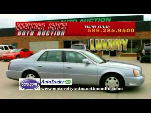 Motorcity Auto Auction Commercial Youtube