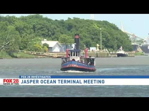 Jasper Ocean Terminal project aims to address growing ports; impacts across state lines