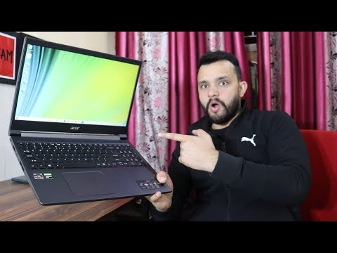 Acer Aspire 7 Unboxing and Review - Ryzen 5 3550H+ 1650 Ti - Build, Gaming, Benchmarking and More