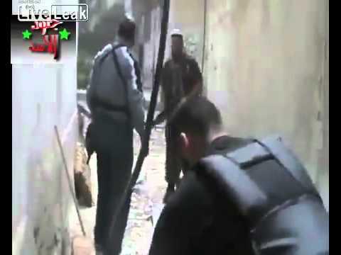 Bắn nhau ở Syria.flv